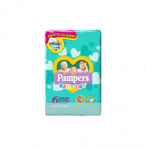 Baby Dry Taglia 6 Extralarge Pampers 14 Pezzi