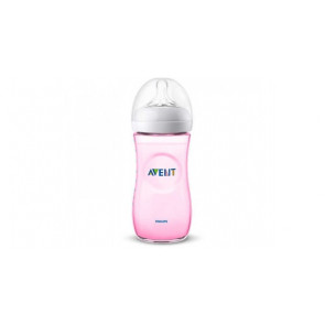 AVENT BIBERON NATURAL PP ROSA 330 ML