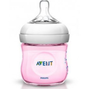 AVENT BIBERON NATURAL PP ROSA 125 ML