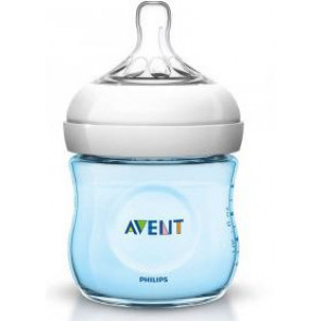 AVENT BIBERON NATURAL PP AZZURRO 125 ML
