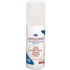 Disinfettante contro Virus e Batteri Spray no Gas 100 ml Ceroxmed
