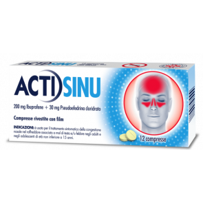 Actisinu 200 mg/30 mg 12 Compresse Rivestite