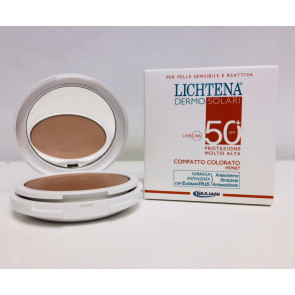 Lichtena Dermo Solari Compatto Colorato Honey SPF 50+