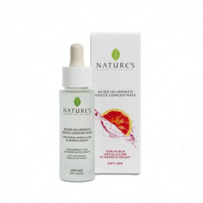 Acido Ialuronico Gocce Concentrate Acque Unicellulari 30 ml Nature's