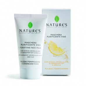 Maschera Purificante Viso Acque Unicellulari 50 ml Nature's