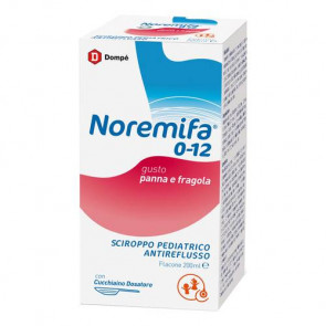 Sciroppo Antireflusso Pediatrico 200 ml Noremifa 0-12