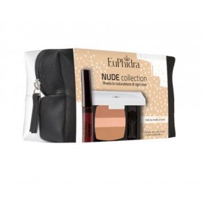 Nude Collection Pelli Medio Scure Palette Terra Viso + Gloss Lucidalabbra Euphidra
