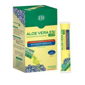 Aloe Vera Forte con Mirtillo 24 Pocket Drink Esi