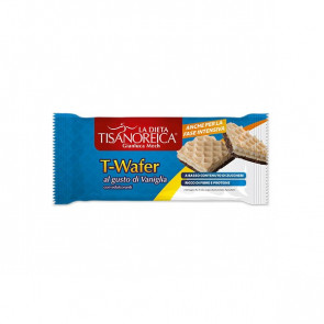 T-Wafer alIa Vaniglia Tisanoreica 2 Snacks